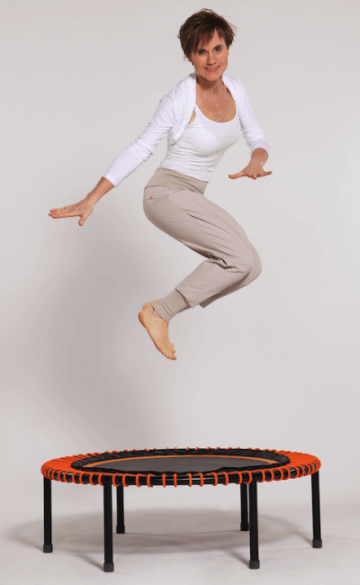 Sylvia Zukrigl - Rebounding _ Trampolin Fitness Trainerin aus Schifferstadt